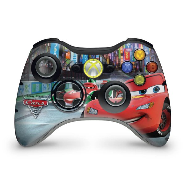 Skin Xbox 360 Controle - Carros