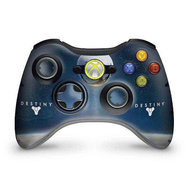 Skin Xbox 360 Controle - Destiny
