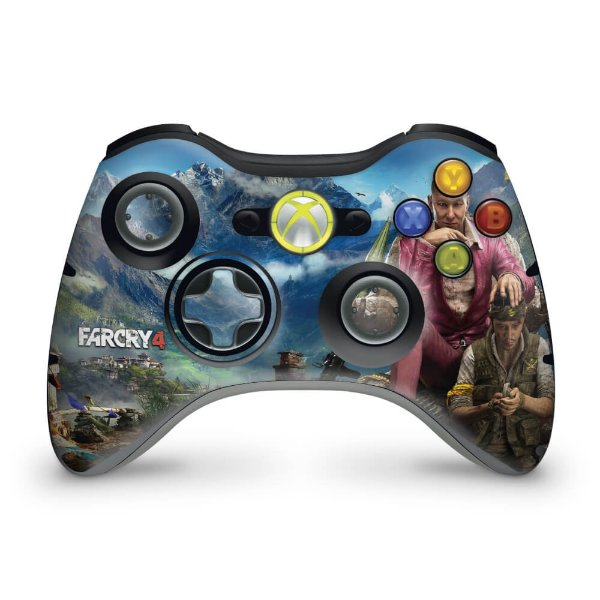 Skin Xbox 360 Controle - Far Cry 4