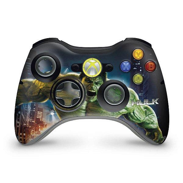 Skin Xbox 360 Controle - Hulk