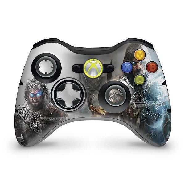 Skin Xbox 360 Controle - Shadow Of Mordor