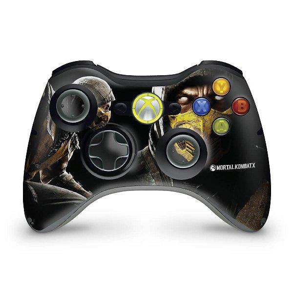 Skin Xbox 360 Controle - Mortal Kombat X #a