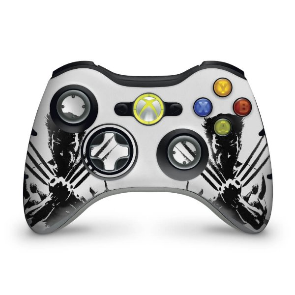 Skin Xbox 360 Controle - Wolverine X-men