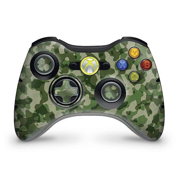 Skin Xbox 360 Controle - Camuflado