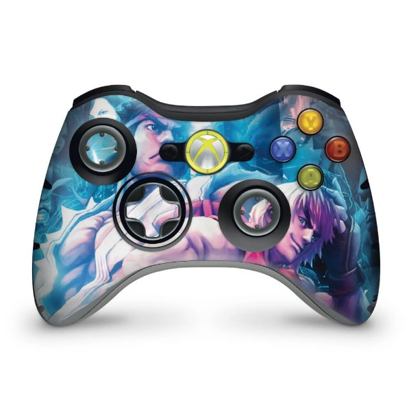 Skin Xbox 360 Controle - Street Fighter