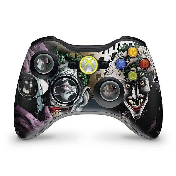 Skin Xbox 360 Controle - Joker Coringa