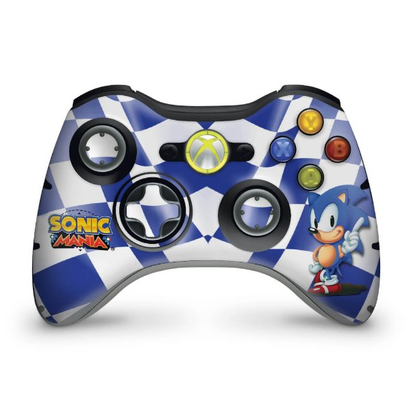 Skin Xbox 360 Controle - Sonic The Hedgehog