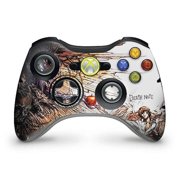 Skin Xbox 360 Controle - Death Note