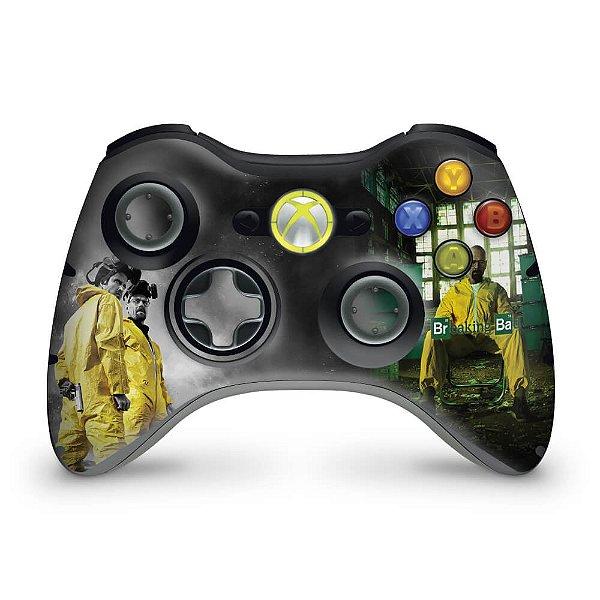 Skin Xbox 360 Controle - Breaking Bad