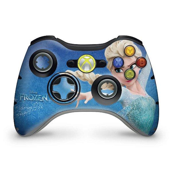 Skin Xbox 360 Controle - Frozen