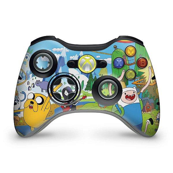 Skin Xbox 360 Controle - Hora De Aventura