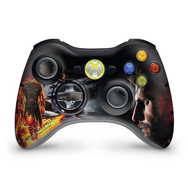 Skin Xbox 360 Controle - Metal Gear Solid 5