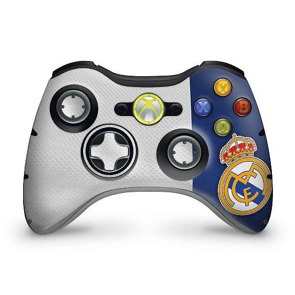 Skin Xbox 360 Controle - Real Madrid Fc