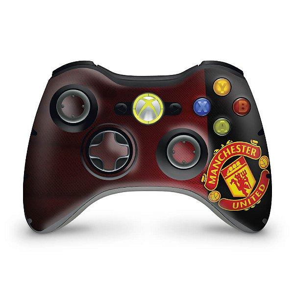 Skin Xbox 360 Controle - Manchester United