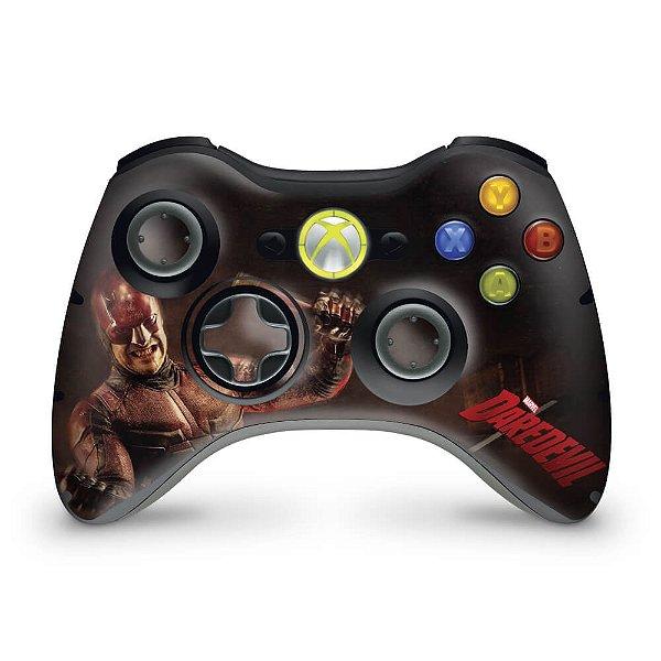 Skin Xbox 360 Controle - Daredevil Demolidor