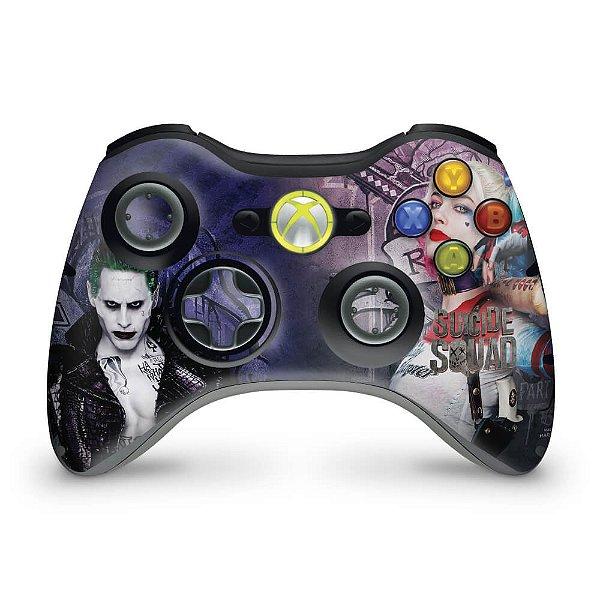 Skin Xbox 360 Controle - Esquadrão Suicida #a