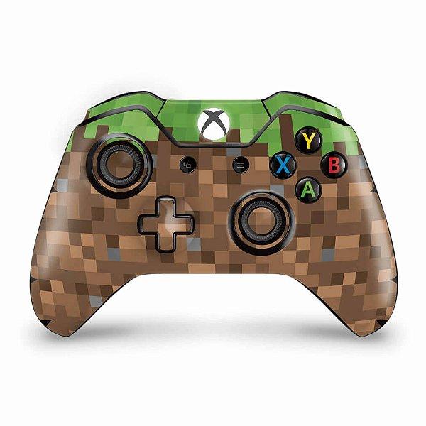 Skin Xbox One Fat Controle - Minecraft