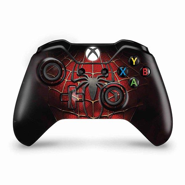 Skin Xbox One Fat Controle - Spider Man - Homem Aranha