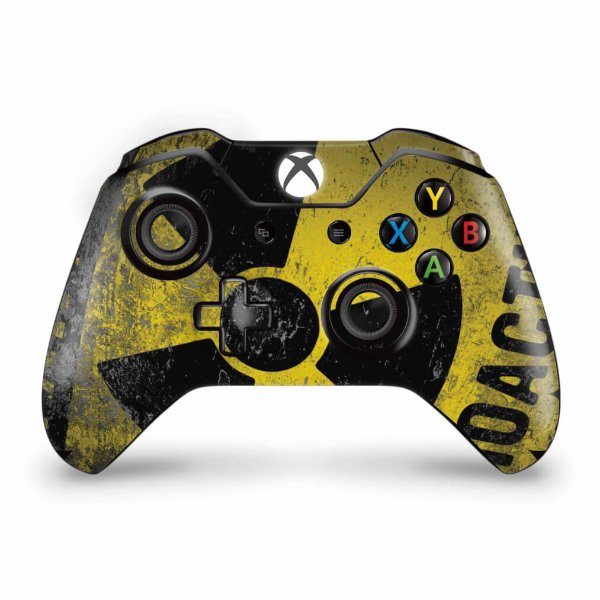Skin Xbox One Fat Controle - Radioativo