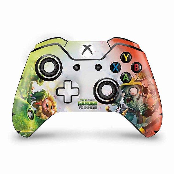 Skin Xbox One Fat Controle - Plants Vs Zombies Garden Warfare