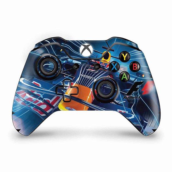 Skin Xbox One Fat Controle - Formula 1