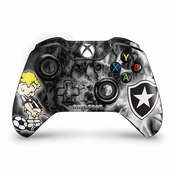 Skin Xbox One Fat Controle - Botafogo