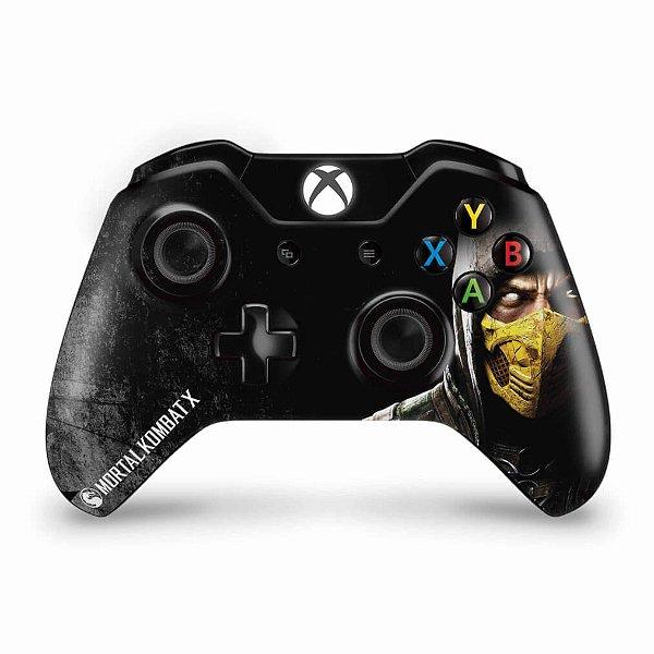 Skin Xbox One Fat Controle - Mortal Kombat X
