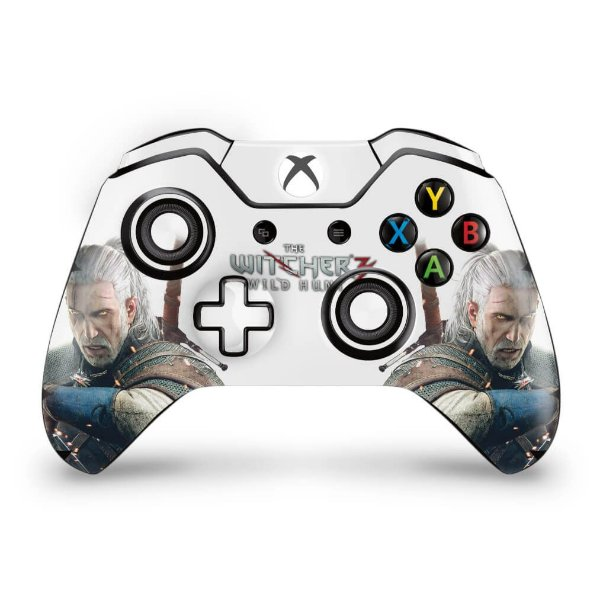 Skin Xbox One Fat Controle - The Witcher 3 #B