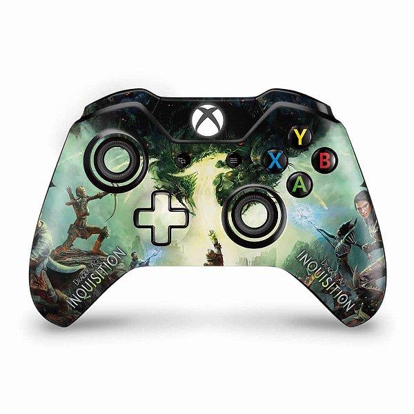 Skin Xbox One Fat Controle - Dragon Age Inquisition