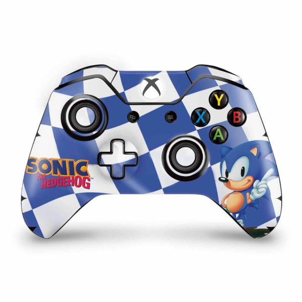 Skin Xbox One Fat Controle - Sonic The Hedgehog