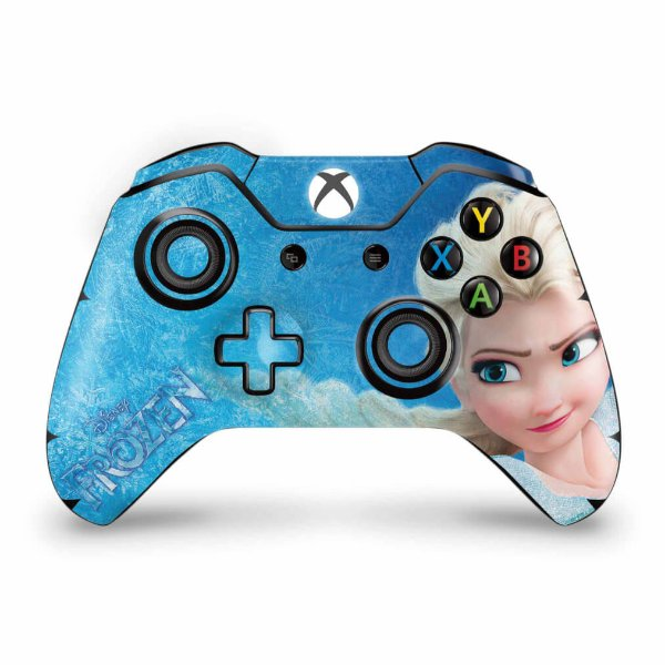 Skin Xbox One Fat Controle - Frozen