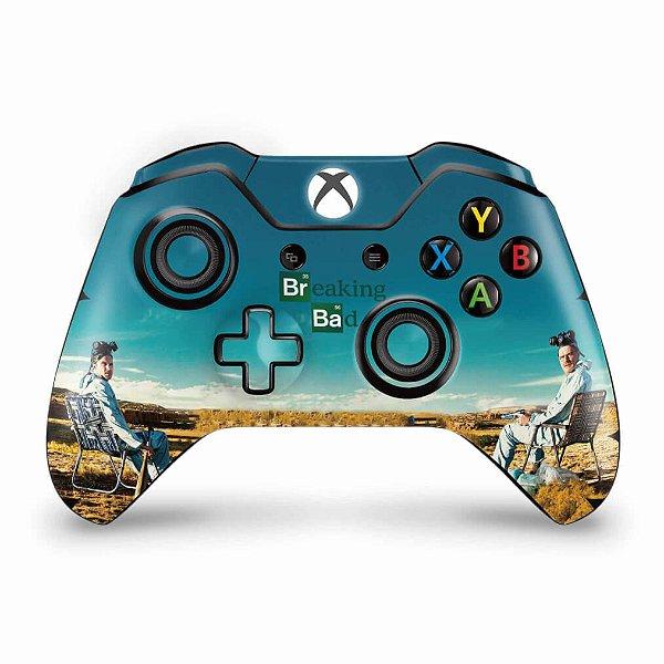 Skin Xbox One Fat Controle - Breaking Bad
