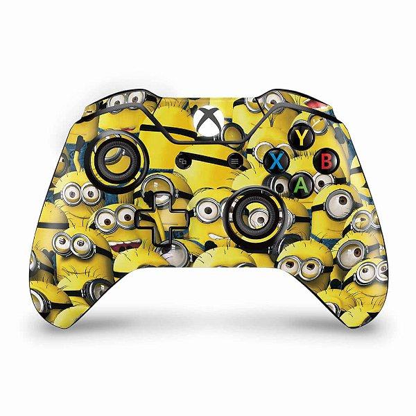 Skin Xbox One Fat Controle - Minions