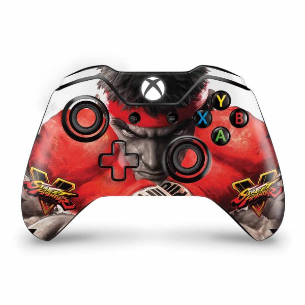 Skin Xbox One Fat Controle - Street Fighter V