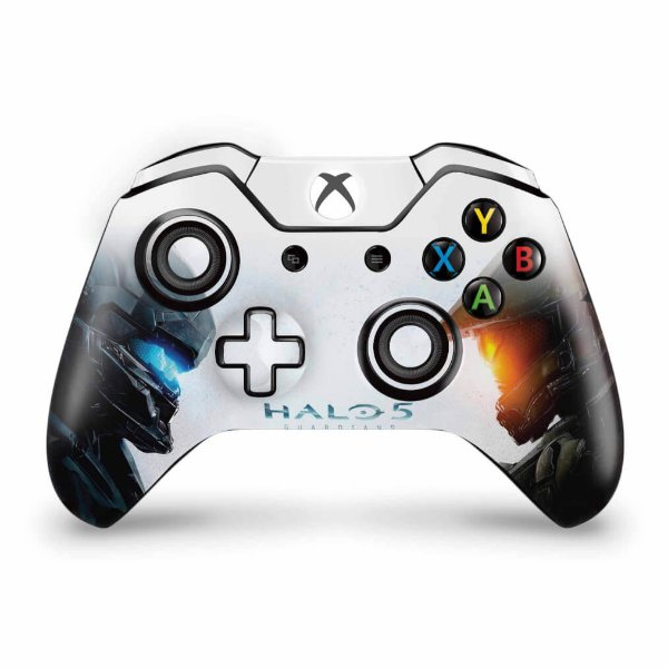Skin Xbox One Fat Controle - Halo 5: Guardians #B