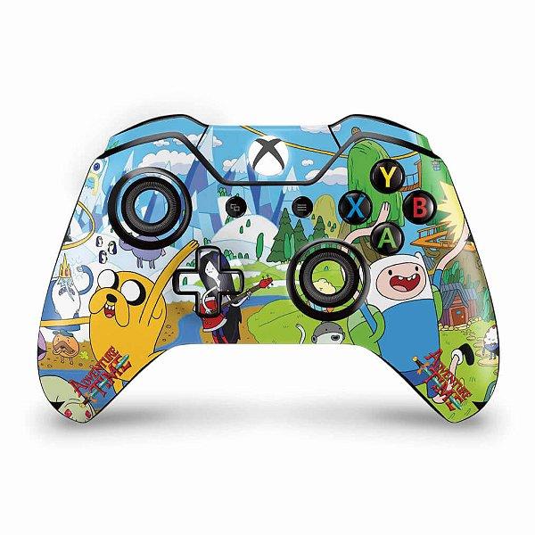 Skin Xbox One Fat Controle - Hora de Aventura