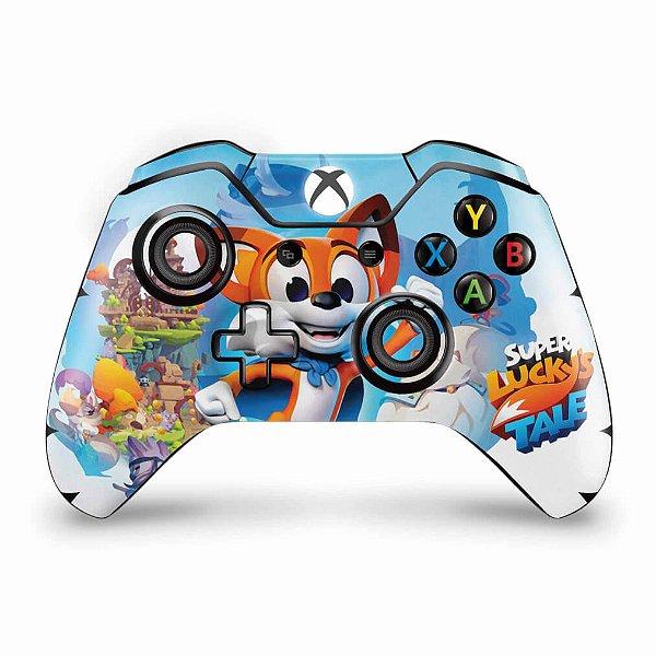 Skin Xbox One Fat Controle - Super Lucky's Tale