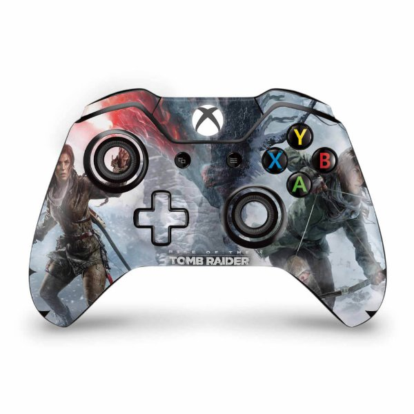 Skin Xbox One Fat Controle - Rise of the Tomb Raider