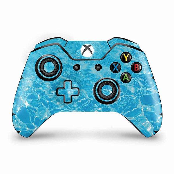 Skin Xbox One Fat Controle - Aquático Água