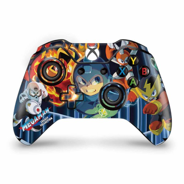 Skin Xbox One Fat Controle - Megaman Legacy Collection