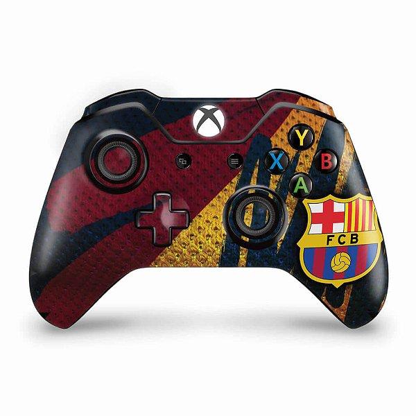 Skin Xbox One Fat Controle - Barcelona