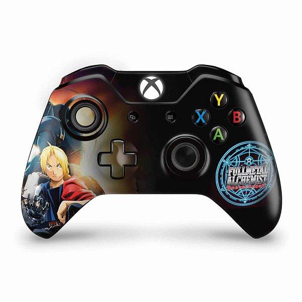 Skin Xbox One Fat Controle - Fullmetal Alchemist: Brotherhood