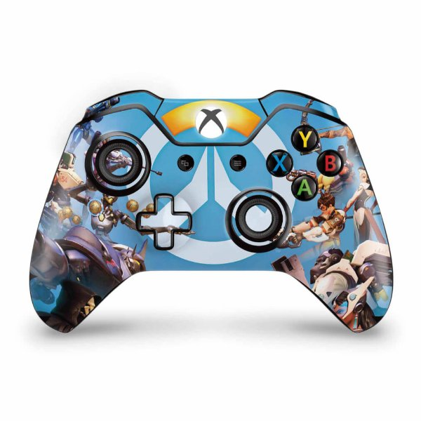 Skin Xbox One Fat Controle - Overwatch