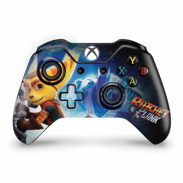 Skin Xbox One Fat Controle - Ratchet and Clank