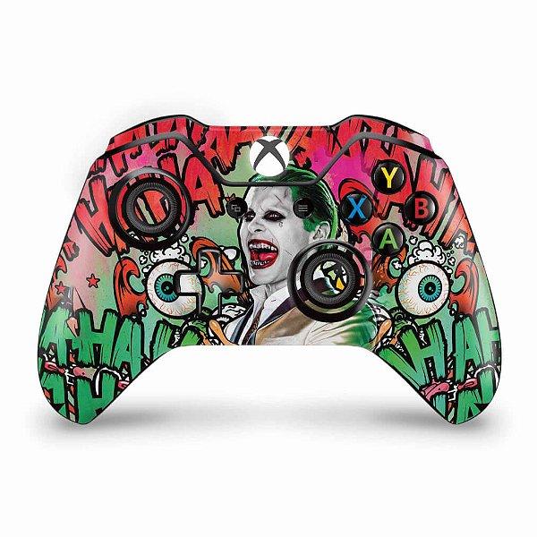 Skin Xbox One Fat Controle - Esquadrão Suicida #B