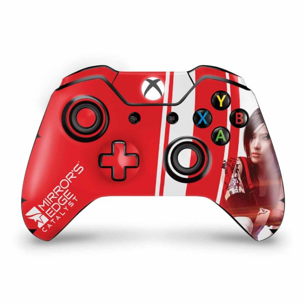 Skin Xbox One Fat Controle - Mirror's Edge Catalyst