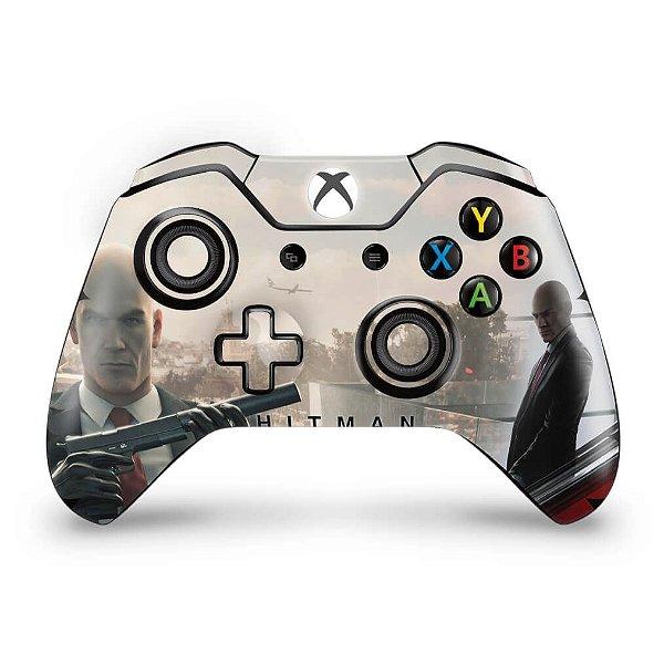 Skin Xbox One Fat Controle - Hitman 2016