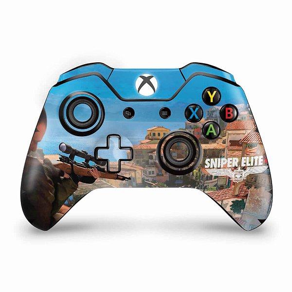 Skin Xbox One Fat Controle - Sniper Elite 4