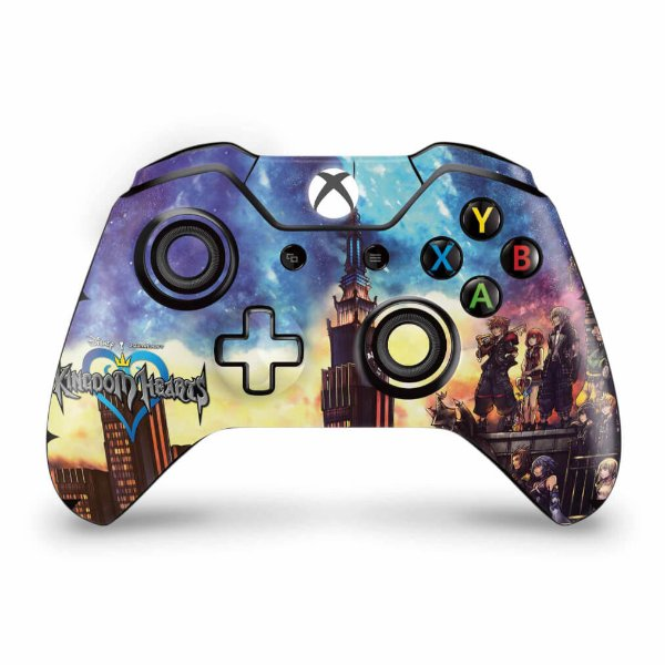 Skin Xbox One Fat Controle - Kingdom Hearts