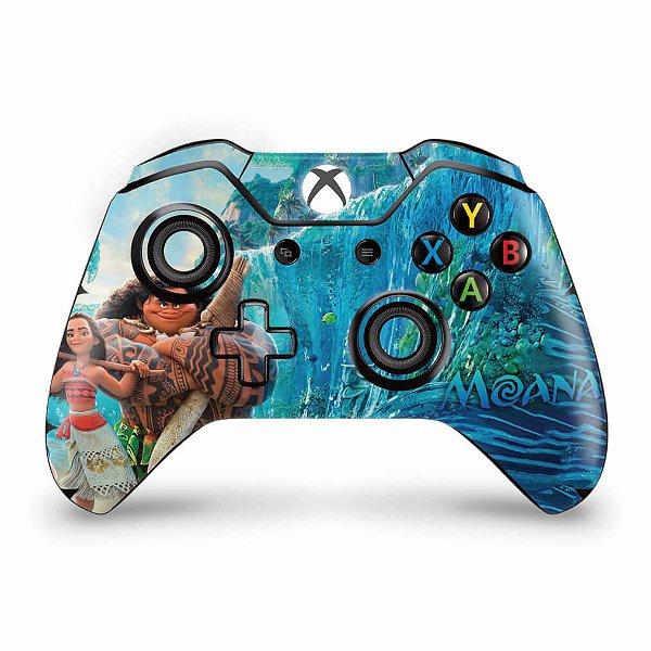 Skin Xbox One Fat Controle - Disney Moana